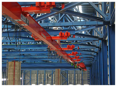 ปั้นจั่นรางเลื่อนไฟฟ้า Monorail Crane